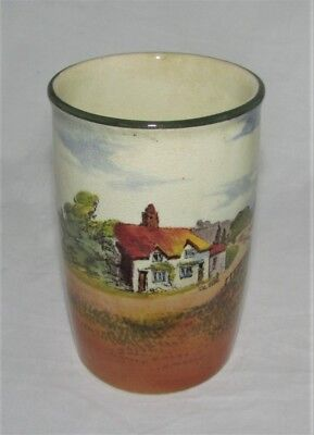 Royal Doulton Series Ware Vase D3634 Countryside? English Cottages?