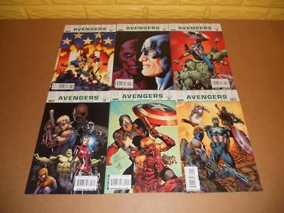Ultimate Avengers 1 2 3 4 5 6 Marvel 2009 Carlos Pacheco Complete Set!