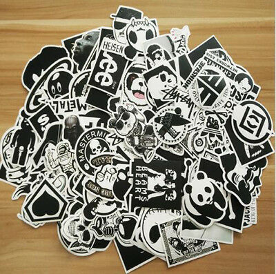 100 X car bumper decal graffiti stickers wall art vinyl sticker bomb skateboard