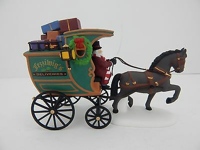 Dept 56 Dickens Village Christmas Carol Revisited The Fezziwig Delivery Wagon