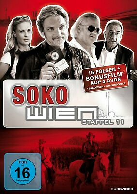 SOKO Wien / Donau - Season/Staffel 11 # 5-DVD-BOX-NEU