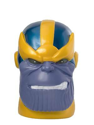 "Marvel Heroes: Thanos Head Bust 10"" Vinyl Coin Bank BRAND NEW #soct17-94"