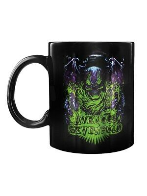 Avenged Sevenfold Dare To Die Boxed Black A7X Mug