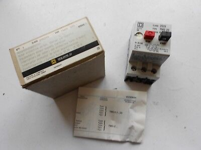TMS20 Square D Disjoncteur magnétothermique Motor protection switch 3pole 20-25A