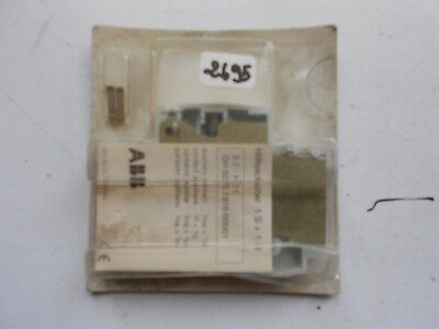 S2-H11 ABB bloc contacts auxiliaires auxiliary switch block 1NO + 1NC