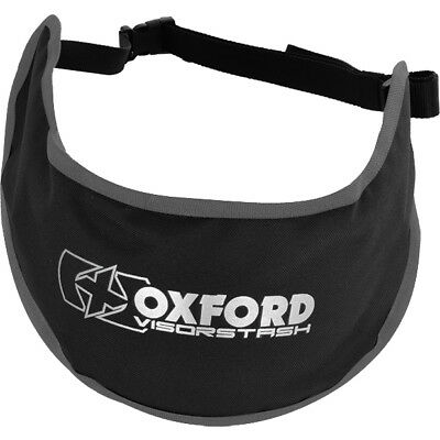 Oxford Visorstash Deluxe Padded Visor Carrier Accessory Bag Motorbike GhostBikes
