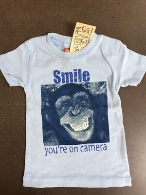 Boys Boutique 12-18 months Charlie Rocket NEW NWT Monket Shirt You're on Camera