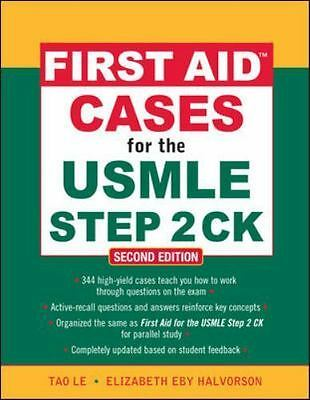 First aid cases for the USMLE step 2 CK  VeryGood