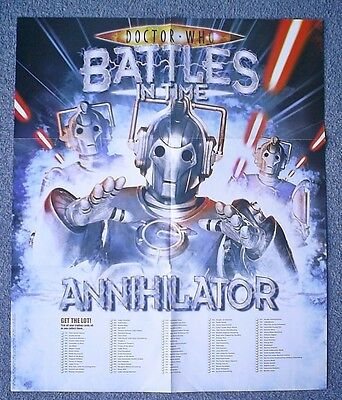 Dr Doctor Who Battles in Time Annihilator Poster 50 by 59cm approximately