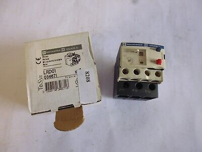 LRD01 telemecanique relais thermiques thermal overload relay 0.1-0.16A 034671