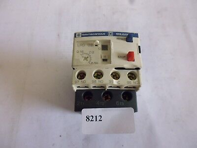LRD02 telemecanique relais thermiques thermal overload relay 0.16-0.25A