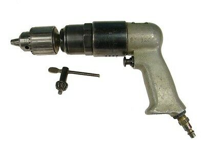 "Rockwell 725 RPM Pneumatic Drill 1/2"" Chuck Aircraft Tools Air Drill"