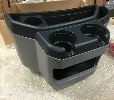 97-15 FORD ECONOLINE Van Gray Center Console Cup Holder