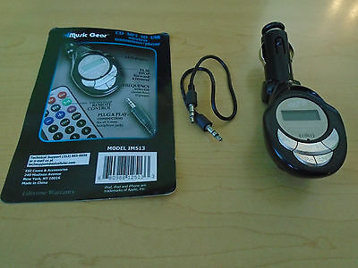 Music Gear IM513 Wireless Transmitter *NO REMOTE NO PAPERWORK * USED