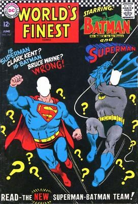 WORLD'S FINEST COMICS #167 VG/F, Superman, Batman, DC Comics 1967
