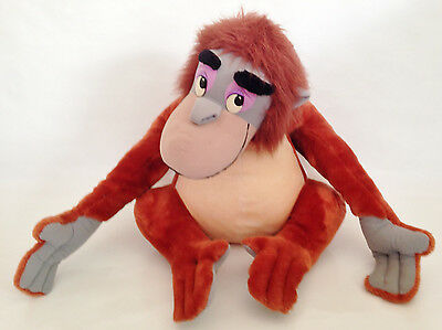 "Official Disney Store Large/Giant 26"" King Louie The Jungle Book Soft Plush Toy"