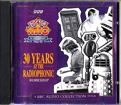 Doctor Dr. Who 30th Anniversary 30 Years At The Radiophonic Workshop BBC CD SFX