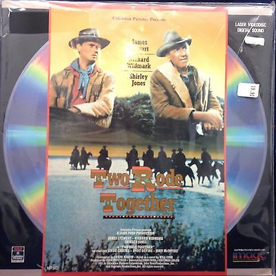 Two Rode Together (1961) [ID6644RC] Laserdisc NEW LD
