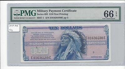 MPC Series 692  10 Dollars  PMG 66EPQ  GEM UNC