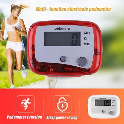 Running Step Pedometer Waterproof Walking Distance Calorie Counter Pedomete Z
