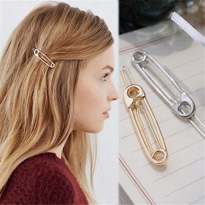 2PCS Bridesmaid Bobby Hair Pin Barrette Clip Hairpin Paperclip Headwear Wedding