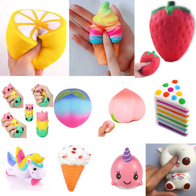 Jumbo Slow Rising Squishies Scented Squishy Squeeze Pressure Relief Kids Toys