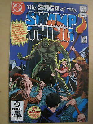 SWAMP THING, the Saga of the, Volume 1, DC 1982. Issues 1,3,4,6 ,7,14,15,16