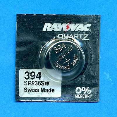 394 SR936SW V394 D394 SR45 1.55V Silver Oxide Watch Cell Battery Rayovac
