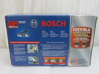 "NEW Bosch 18V Lithium 2-1/2"" Portable Lithium-Ion Compact Band Saw BSH180B"