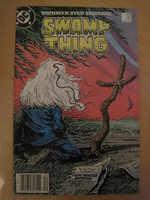 SWAMP THING 55. By ALAN MOORE, VEITCH & ALCALA. DC COMICS.1986