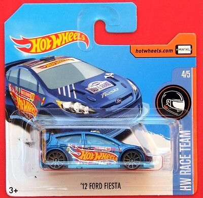 Hot Wheels 2017  ´12 FORD FIESTA  210/365  NEU&OVP
