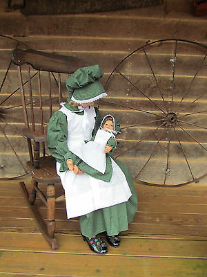Matching Doll Set /& Child Costume American Pioneer Girl Royal Child size 4-14