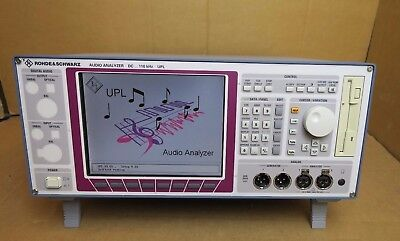 Rohde & Schwarz UPL16 B4/B6/B9/B10 Audio Analyzer DC to 110 kHz UMTS/GSM R&S