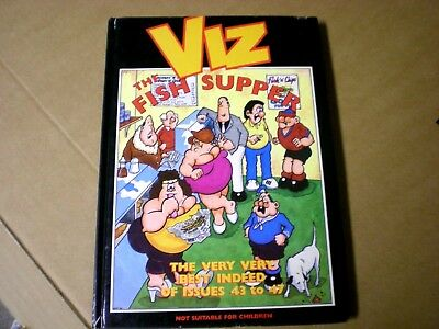 Viz The Fish Supper, (1992), Very Best Issues 43-47, HC, John Brown Publishing