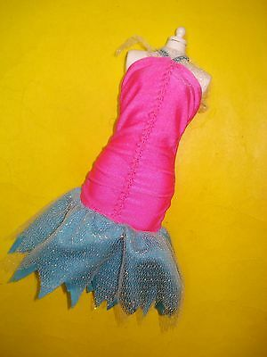 Jem and the Holograms 80s Doll Clothes FLASH N SIZZLE Stage DRESS 1987