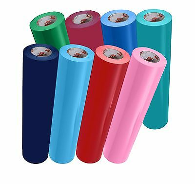 """Oracal 651 12"""" x 10ft. Roll Glossy Vinyl - Different Colors"""