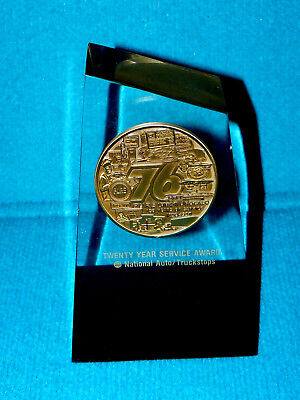"Union/Unocal 76 ""Twenty Year Service Award"" AUTO & TRUCKSTOPS @ Gas Station"