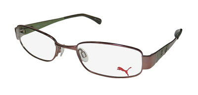 New Puma 15244 Tavarua Durable Signature Logo Hip Eyeglass Frame/eyewear/glasses