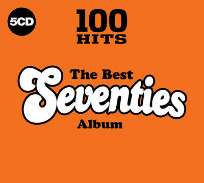Various Artists : 100 Hits: The Best Seventies Album CD (2017) ***NEW***