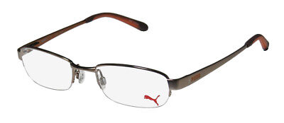 New Puma 15323 Zen Signature Emblem Affordable Eyeglass Frame/glasses/eyewear