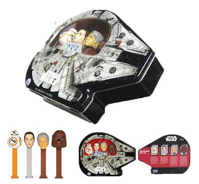 Star Wars Millennium Falcon Pez Gift Set Collectible Tin FREE SHIPPING