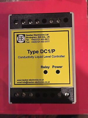 Hawker Electronics Ltd Dc1/p Conductivity Level Controller Relay