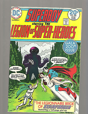 Superboy  #200 High Grade 9.6 J'onn J'onzz  Bouncing Boy And Damsel