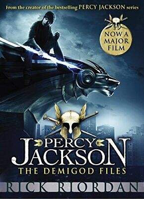 Percy Jackson: The Demigod Files (Film Tie-in) by Riordan, Rick Paperback Book