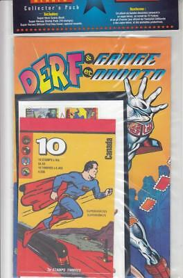 Canada Super Heroes Collectors Pack Still In Post Office Wrapper Superman Etc