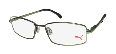 New Puma 15446 Full-Rim Authentic Signature Logo Eyeglass Frame/glasses/eyewear