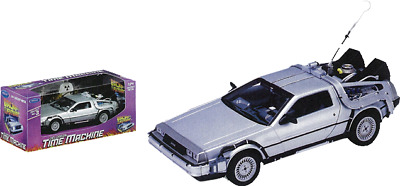 Toy Replicas--Back to the Future - 1:24 Scale Die-Cast DeLorean Replica
