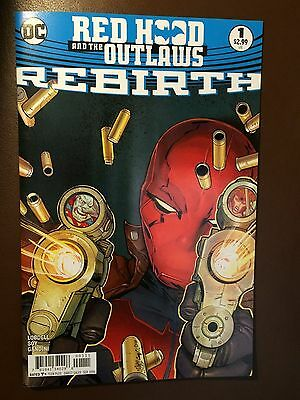 DC comics: RED HOOD AND THE OUTLAWS REBIRTH # 1, 1st print