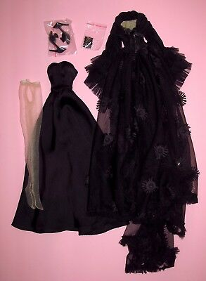 "Tonner Wilde - Dark Dreams 18"" Evangeline Ghastly Fashion Doll OUTFIT"