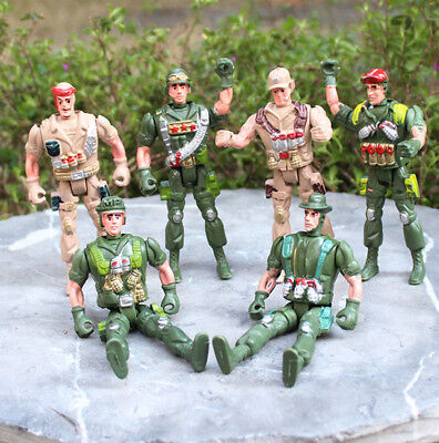 Military Plastic Toy Soldiers Army Men 9cm Figures & Accessories Toys